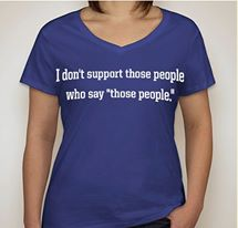 Those People Women's V-Neck Tee